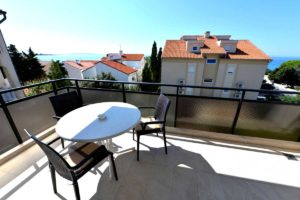Novalja Apartment Beispiel Balkon