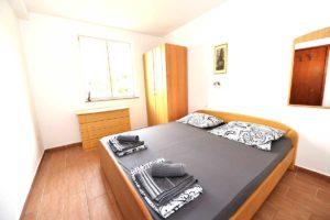 Novalja Apartment Schlafzimmer