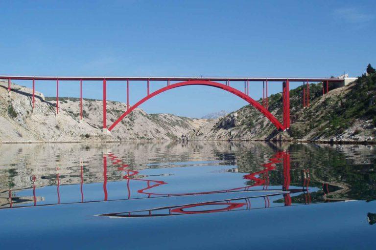Bungee Brücke Kroatien