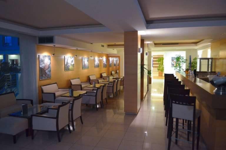 Hotel La Luna Restauranthalle