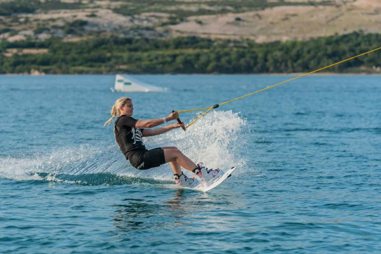 Wakeboard am Zrce Beach bei Novalja