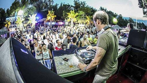 Zrce Beach DJ dreht auf