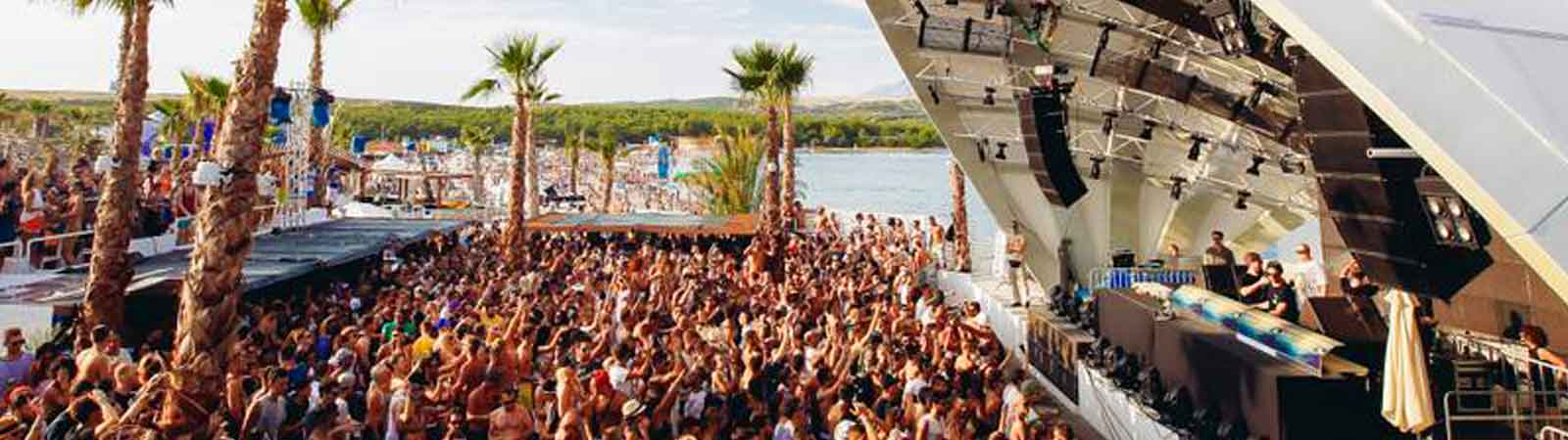 Papaya Stage Novalja Zrce Beach