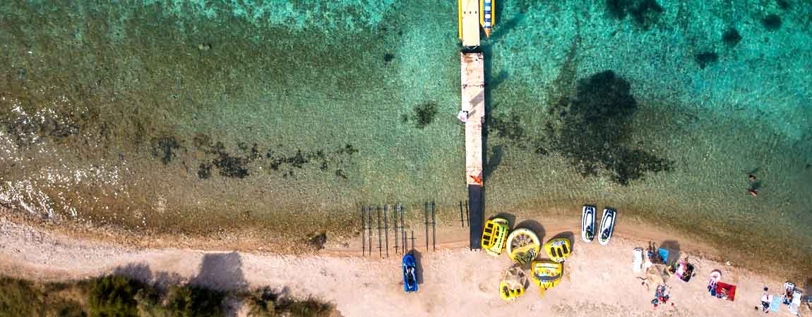 Novalja Strand - Strände mit klarem Wasser